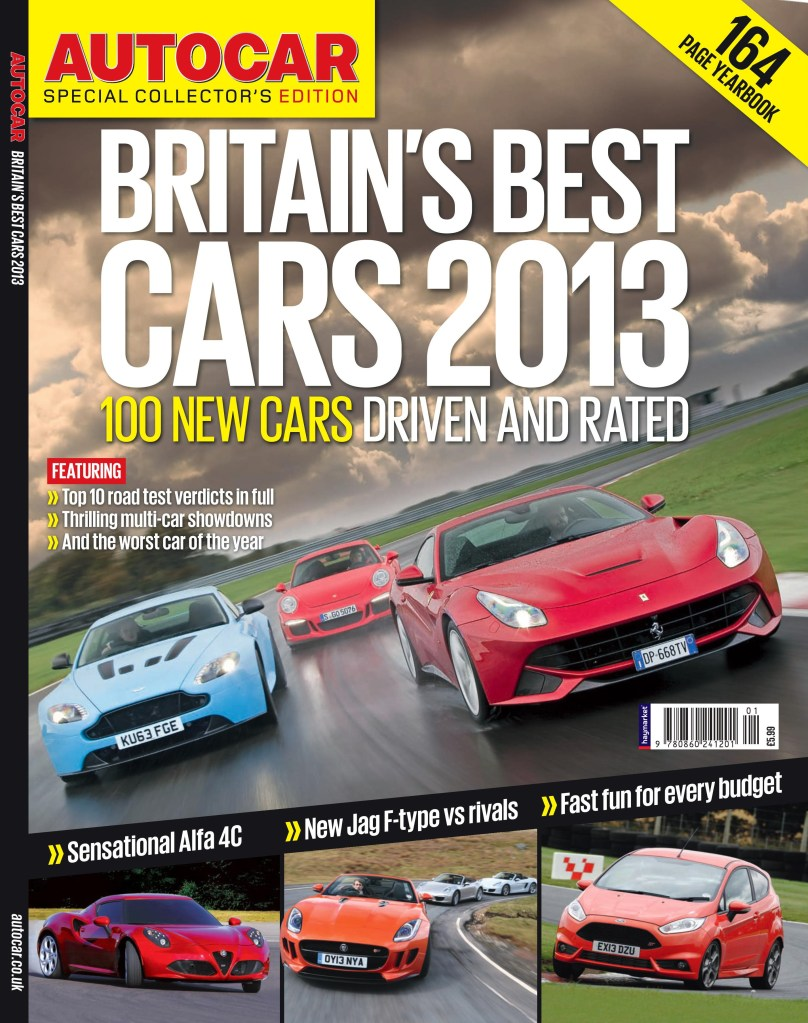 Auticar Road Test Yearbook 2013