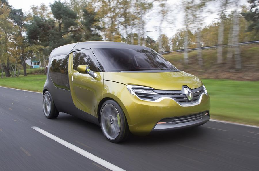 Renault Frendzy MPV concept (photo: Stuart Price)