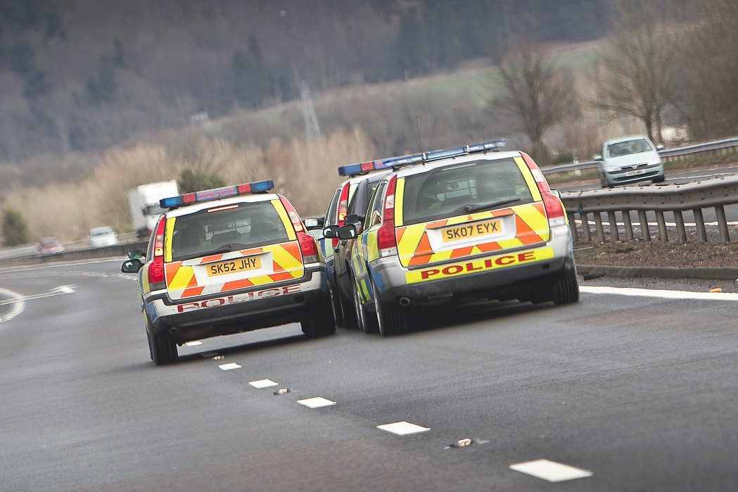 Police driver pursuit training: Autocar magazine feature by Richard Webber (photo: Stuart Price)