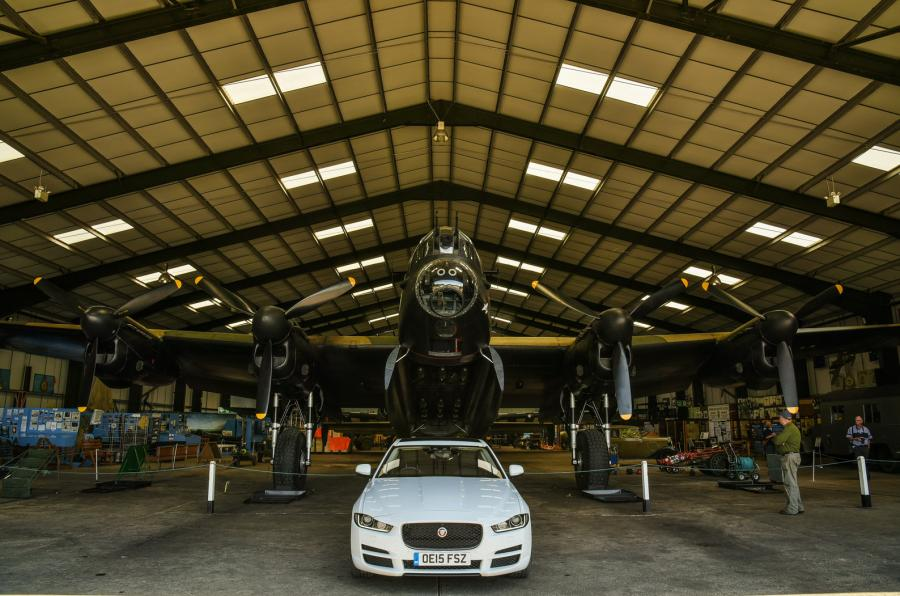 Jaguar XE (photo: Will Williams)